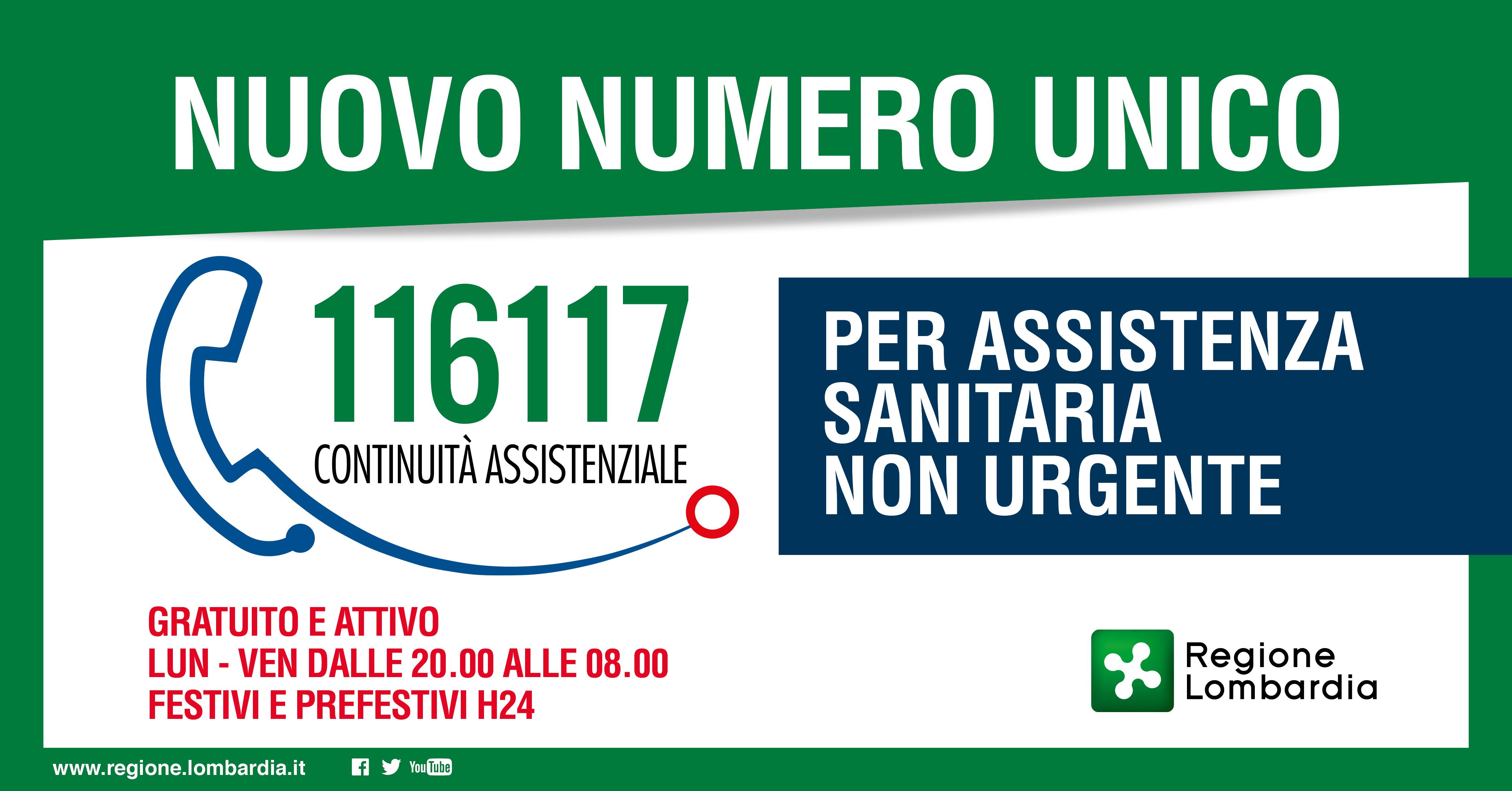Numero Unico 116 117