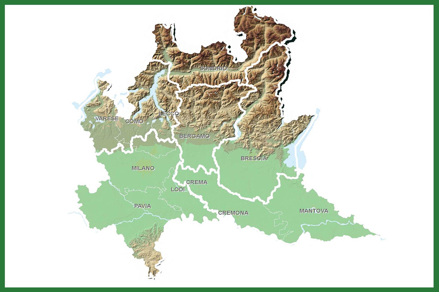 Cartina Economica Lombardia.Programmi Di Bacino Del Trasporto Pubblico Locale